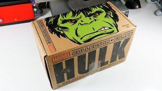 Unboxing Marvel HULK Subscription Box