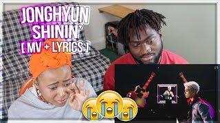JONGHYUN 종현 '빛이 나 (Shinin')' MV + LYRICS - SHE CRIED AGAIN!! EMOTIONAL   REACTION!!