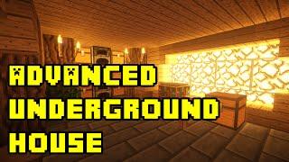 Minecraft: Advanced Underground House/Base Tutorial Xbox/PC/PE/PS3