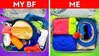 40 Genius Life Hacks For Your Future Trips || Easy Packing Tips by 5-Minute DECOR!