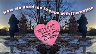 Using Ice to Cope. Mental Health Journal #2 | Comstock Bridge Connecticut Vlog | Naty Rocke
