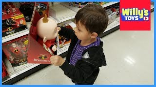 Target Toy Isle Fun for Kids - Incredibles 2 PAW Patrol Jurassic World - Willy
