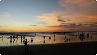 The Best Sunset in Bali - Seminyak!   Evan Edinger Travel Vlogger