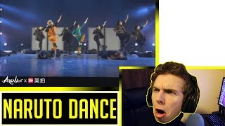 Perhaps The Best NARUTO Dance Choreography Reaction