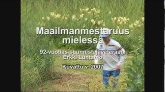 Veteraanisuunnistuksen maailmanmestaruus 2007 Erkki Luntamolle