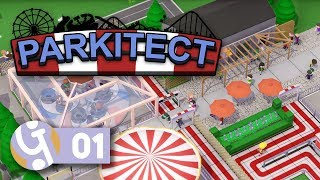 🎡 Full Release! | Let's Play Parkitect Ep. 01