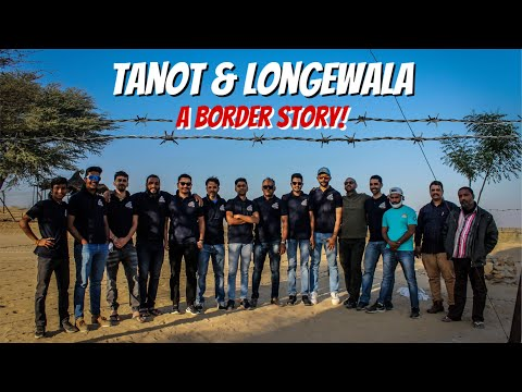 Tanot & Longewala border | A border story | Rajasthan road riders | #cyclingtour