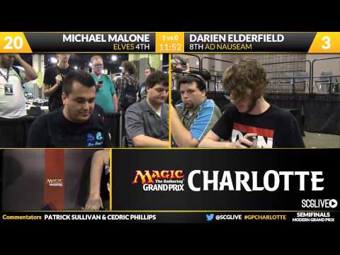 Grand Prix Charlotte 2015 Semifinals (Part 1)