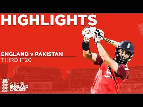 England v Pakistan 3rd IT20 | Final Ball Thriller as Ali & Hafeez Star | Vitality IT20 2020