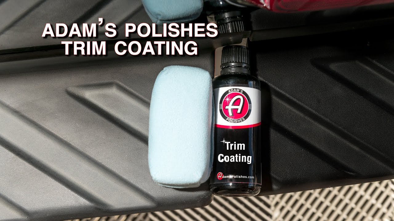 Adam S Polishes Trim Coating Youtube