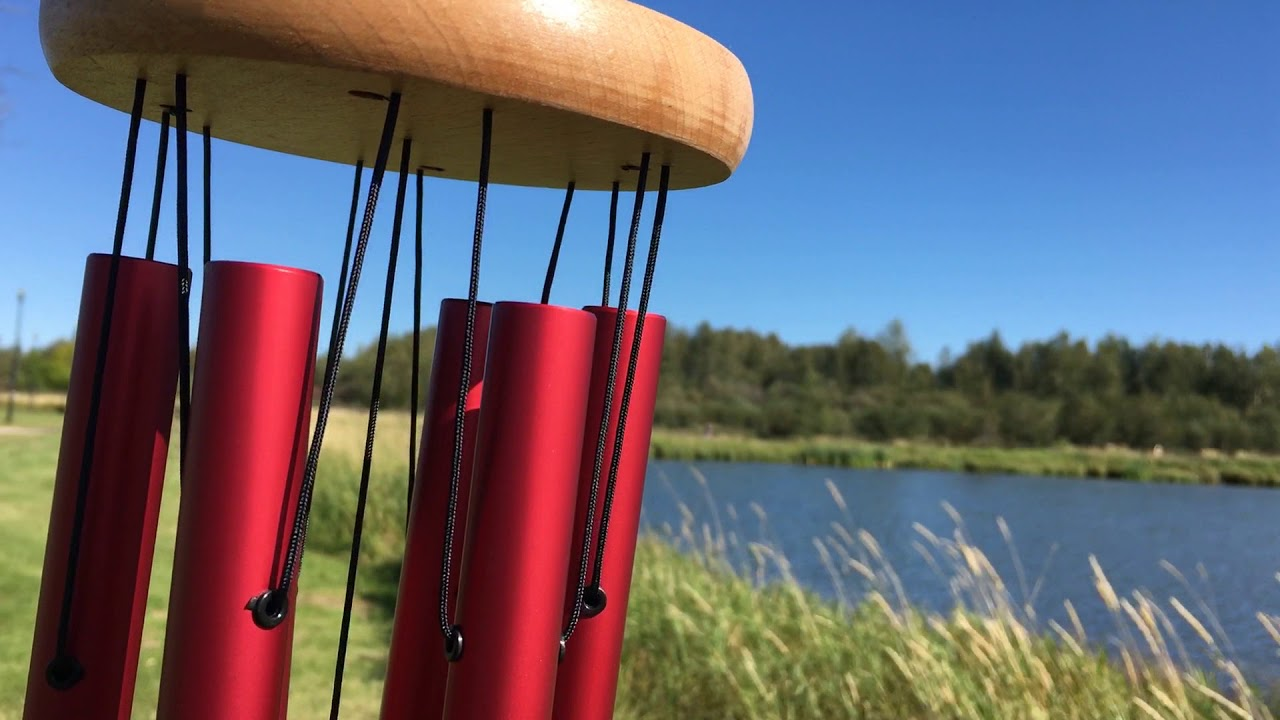 Listen to the Kindness Wind Chime in Red