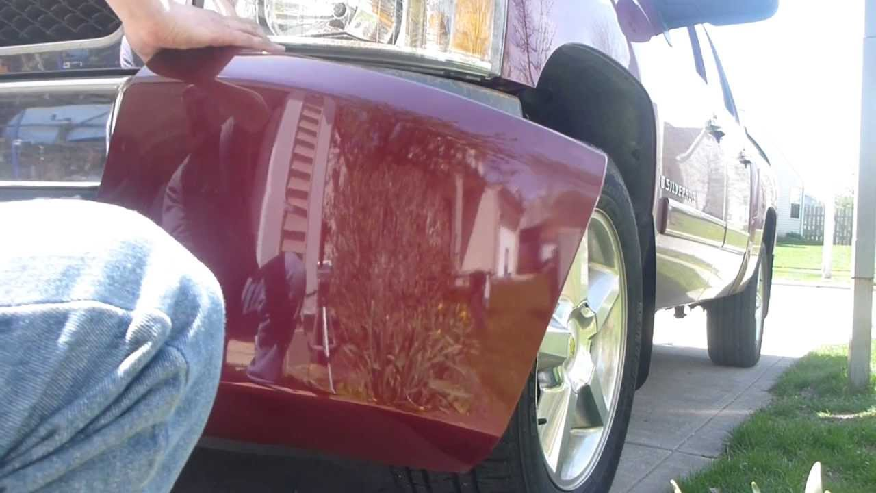 how to remove and install 07-13 chevrolet silverado oem bumper caps ends -  youtube