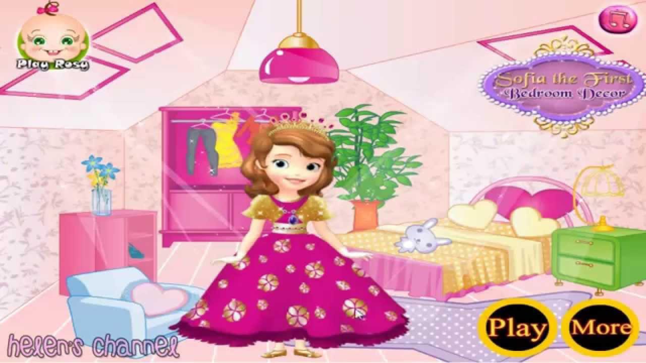 Princess Sofia Bedroom Decor