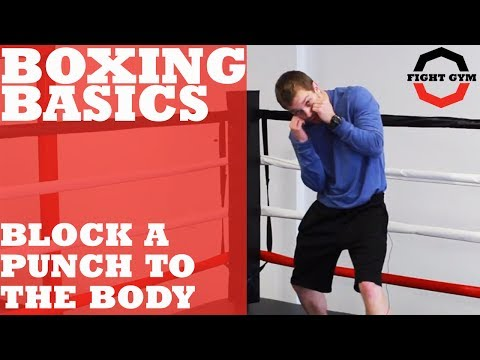 Boxing Basics: How to Block a Punch to the Body