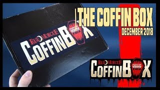 Subscription Spot | The Horror Pack Coffin Box for December 2018!