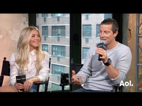 "Bear Grylls & Julianne Hough On ""Running Wild with Bear Grylls"" | BUILD Series"