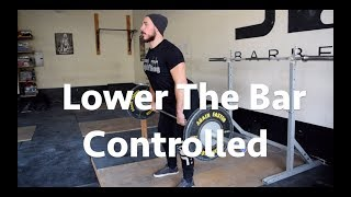 Clean Pull Variations to Improve the Clean & Jerk   Controlled Eccentric    Moment With Coach
