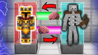 TRANSFORMING MC NAVEED IN TO A MUTANT SKELETON FOR THE DAY IN MINECRAFT / DON'T DIE !! Minecraft