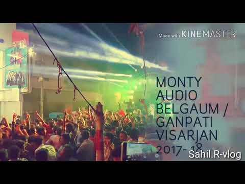 DJ MONTY BGM GANESH VISARJAN 2017-18