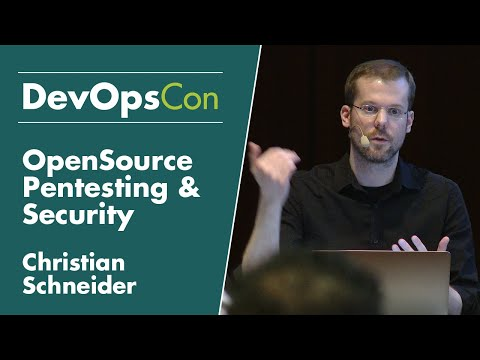 OpenSource Pentesting & Security Analysis Tools | Christian Schneider