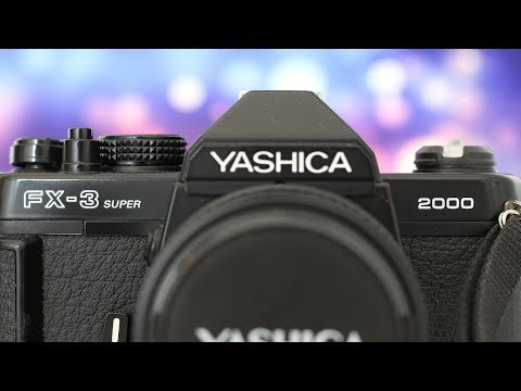 La mia NUOVA MACCHINA FOTOGRAFICA ANALOGICA - Yashica FX-3 Super 2000