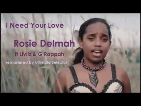 Rosie Delmah - I need your love reggae remastered by Ultimate Selector