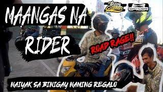 TATAY NAKIPAGAWAY SA KAMOTENG RIDER! NAIYAK SA BINIGAY NAMING REGALO! (GITGIT PRANK) | MOTOVLOGMAS