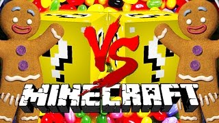 Minecraft: VENDING LUCKY BLOCK CHALLENGE | Shrek Gingerbread Man!