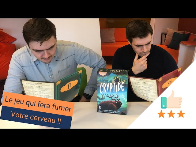 Le meilleur jeu de déduction : Cryptide ! Toreview #14