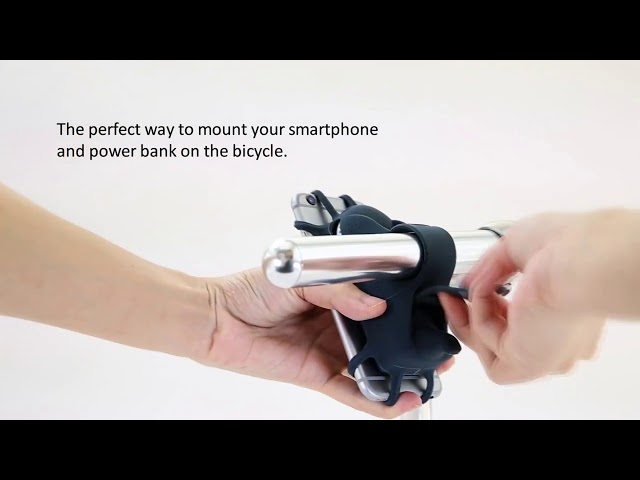 Bike Mount USB Portable Charger 6700mAh Power Bank 🔥 ✅