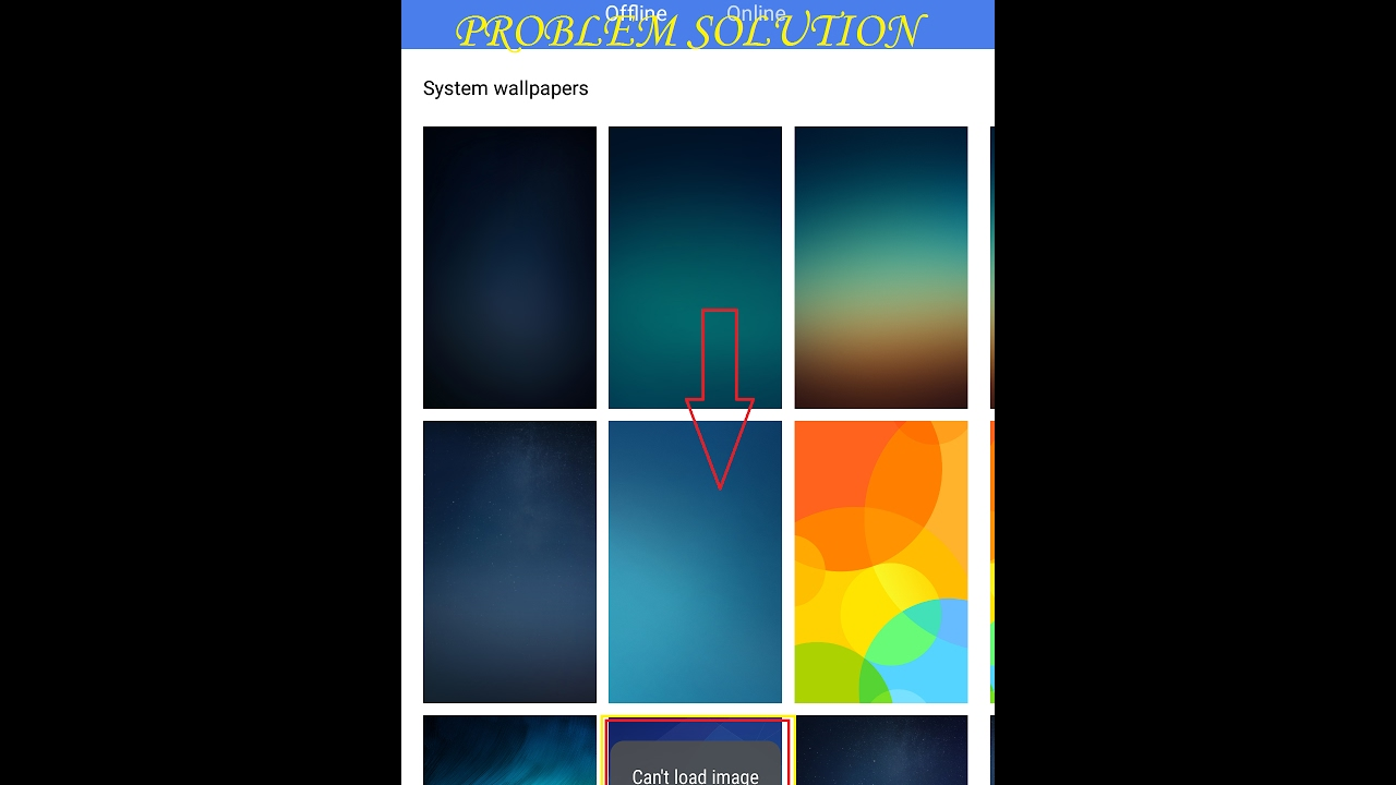 Can't Load image bug solution for redmi note 3/redmi 3s