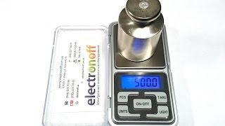 Как калибровать цифровые весы. Калибровка ювелирных весов MH-500 от Интернет-магазина Electronoff