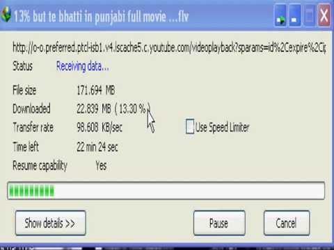 PTCL 1MB speed 2011
