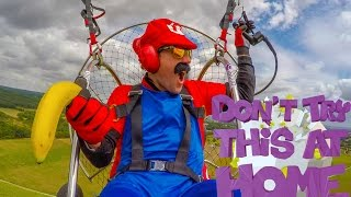 Flying Mario Kart