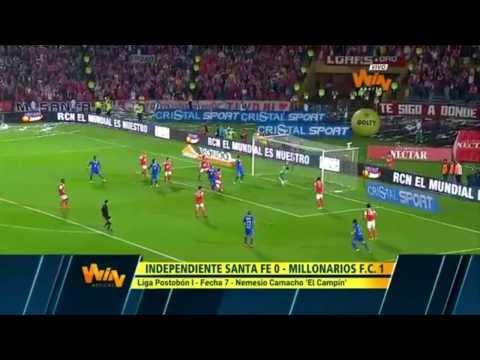 Tolima vs Millonarios (0-0) APLAZADO Fecha 12 Liga Postobón 2012-II from YouTube · Duration:  1 minutes 8 seconds