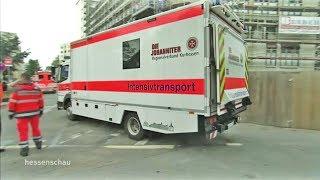 Frankfurt: Vorbereitung zur Bombenentschärfung