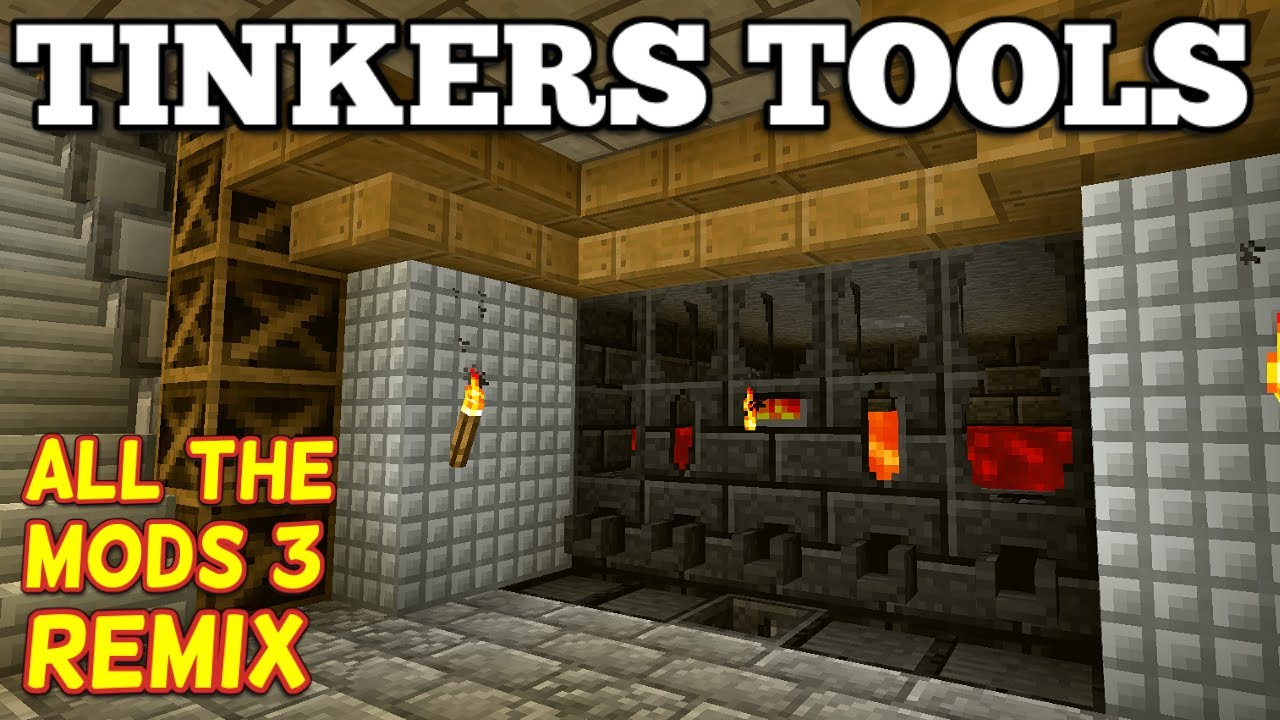 Tinkers Smeltery and Tools - All The Mods 3