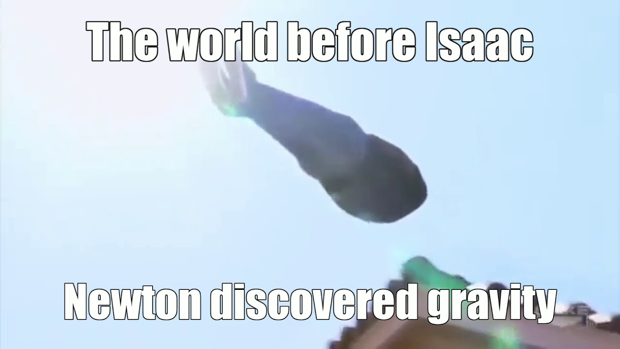 The World Before Isaac Newton Discovered Gravity Youtube