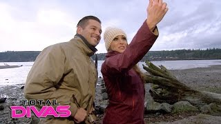 nikki bella contemplates her future while fly fishing total divas april 5 2016