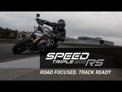 Road focused. Track ready | All-New Speed Triple 1200 RS