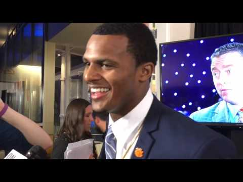 Deshaun Watson on winning the Davey O