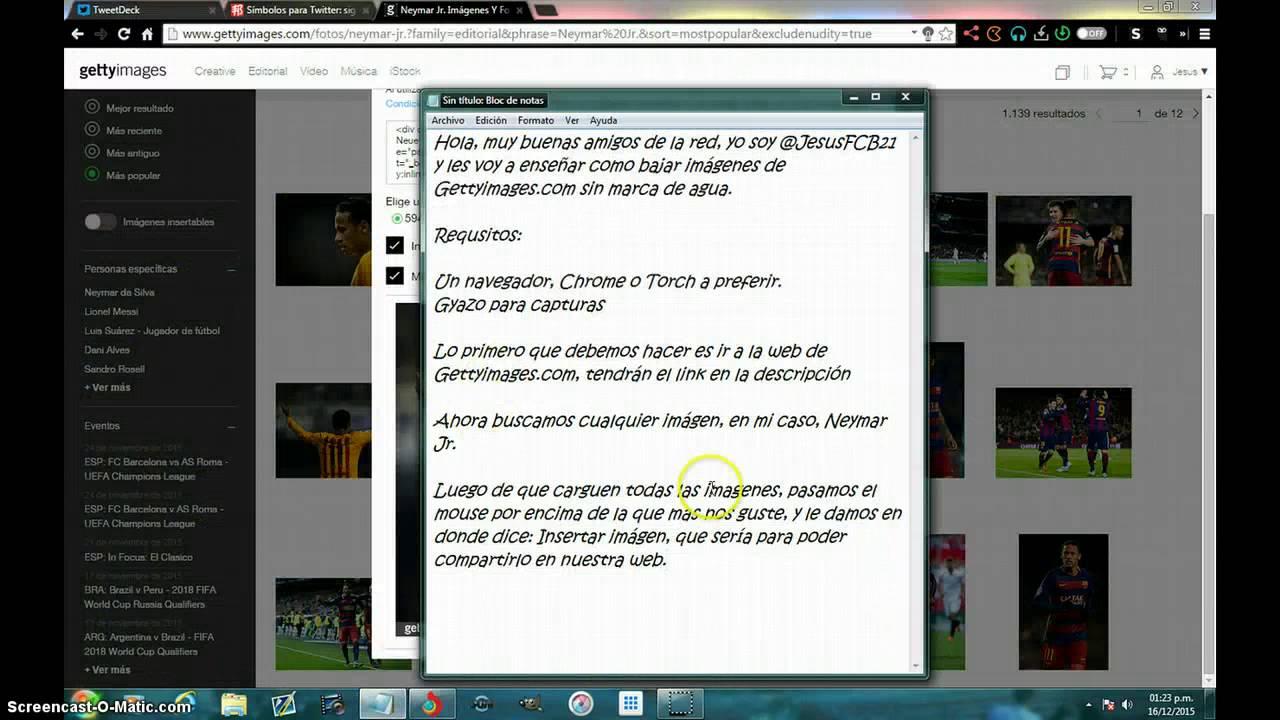 Copia De Como Descargar Imágenes De Gettyimages Sin Marca De Agua Youtube