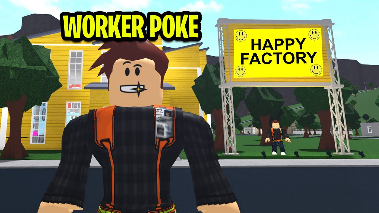 I Worked At A HAPPY FACTORY.. Their Secret Will Shock You.. (Roblox) thumbnail
