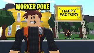 Factory Only Let HAPPY PEOPLE Work..Their Secret Will SHOCK You! (Roblox)