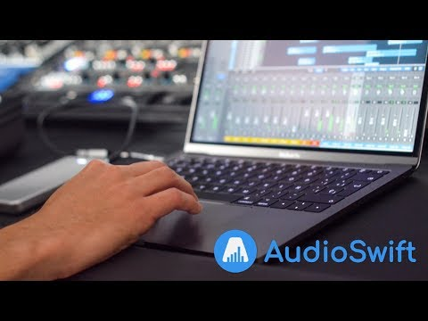 Turn your Mac trackpad into a MIDI controller with AudioSwift 2