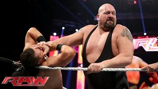 The Miz vs. Big Show: Raw, June 15, 2015