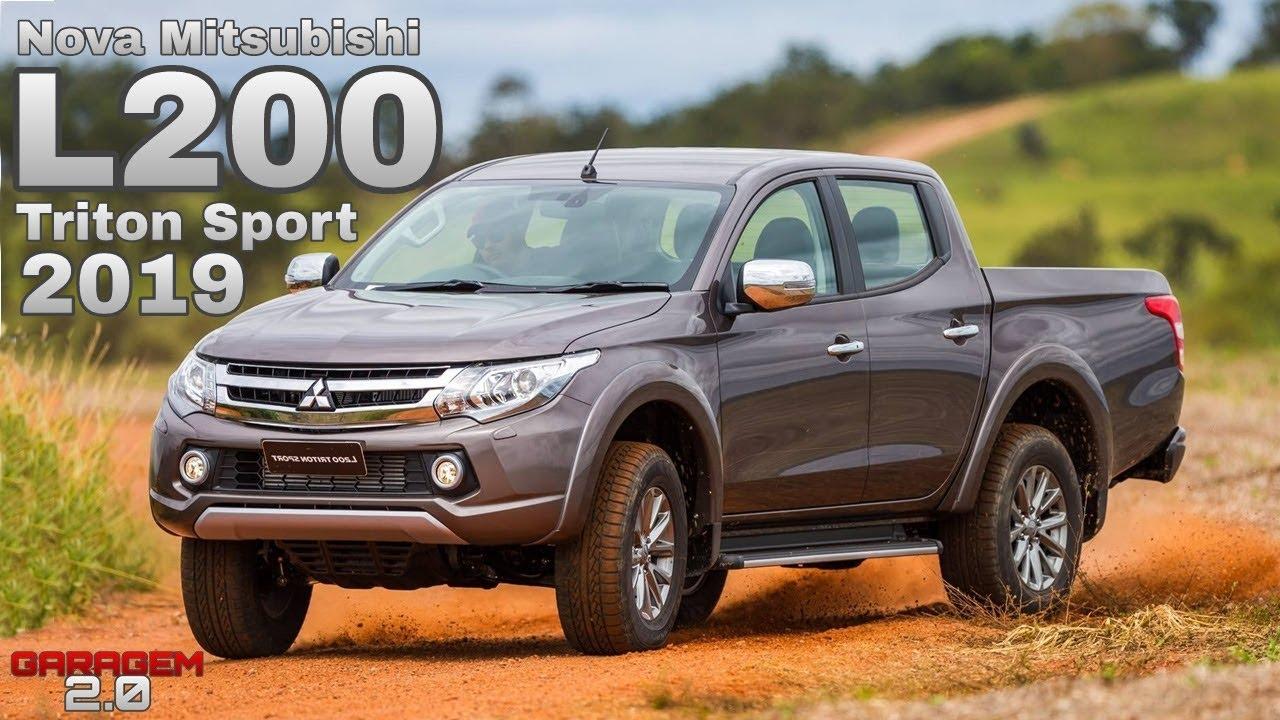 8d081bbd64561 Nova Mitsubishi L200 Triton Sport 2019 - (Garagem 2.0) - YouTube