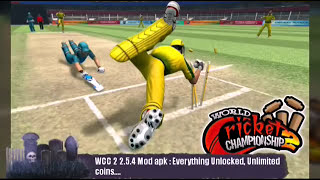 WCC 2 Mod Apk 2.5.4 : Everything Unlocked, Unlimited Coins
