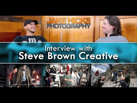 Jake Hicks Photography Interviews Steve Brown Creative