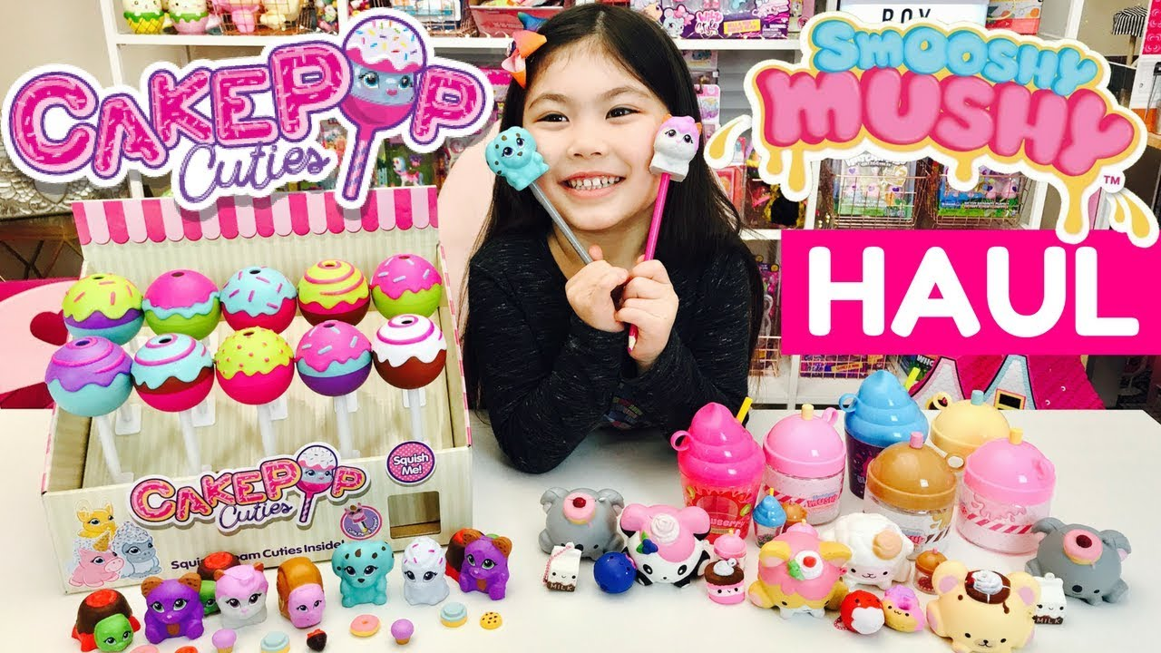 Smooshy Mushy Series 2 Do-Dat Donuts : New CAKE POP CUTIES + SMOOSHY MUSHY Squishies HAUL! Series 2 Do Dat Donuts + Frozen Delights ...